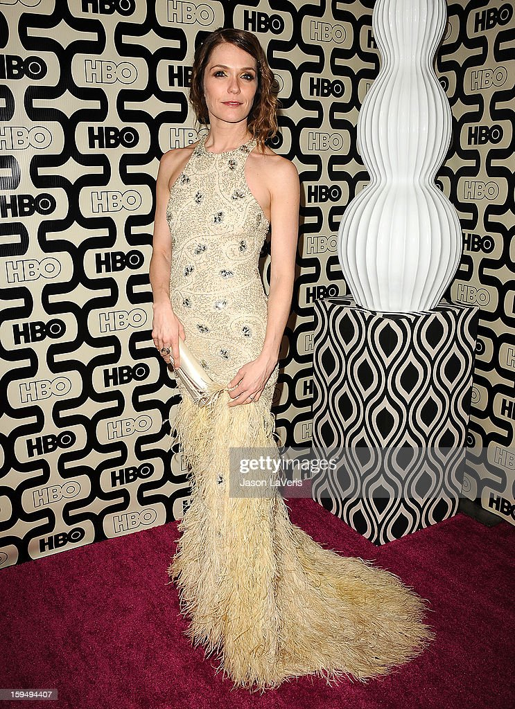 Actress Katie Aselton attends the HBO after party at the 70th annual Golden Globe Awards at Circa 55 restaurant at the Beverly Hilton Hotel on January 13, 2013 in Los Angeles, California.