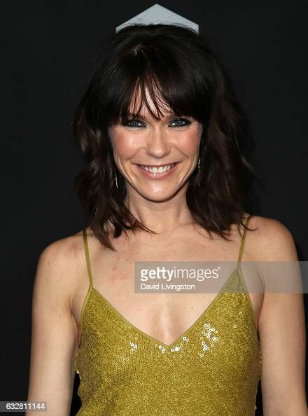 Actress Katie Aselton attends the premiere of FX's 'Legion' at Pacific Design Center on January 26 2017 in West Hollywood California