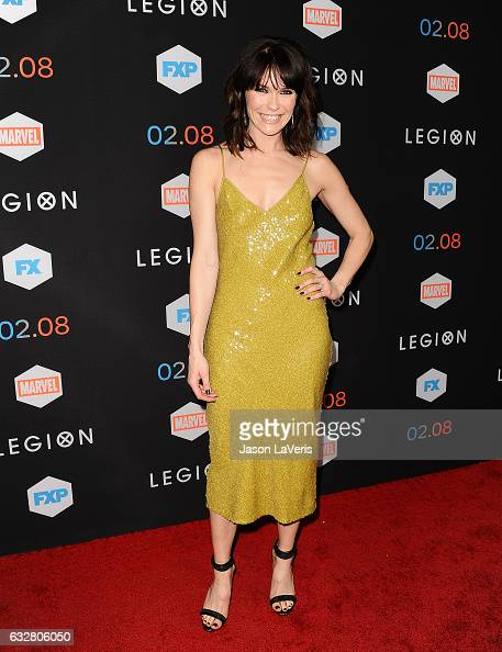 Actress Katie Aselton attends the premiere of 'Legion' at Pacific Design Center on January 26 2017 in West Hollywood California