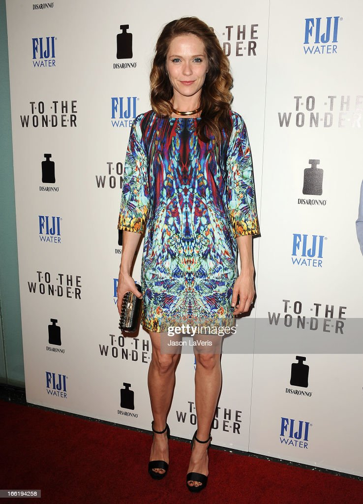 Actress Katie Aselton attends the premiere of 'To The Wonder' at Pacific Design Center on April 9, 2013 in West Hollywood, California.