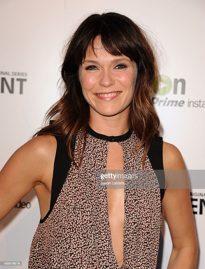 Actress Katie Aselton attends the premiere of 'Transparent' at Ace Hotel on September 15, 2014 in Los Angeles, California.