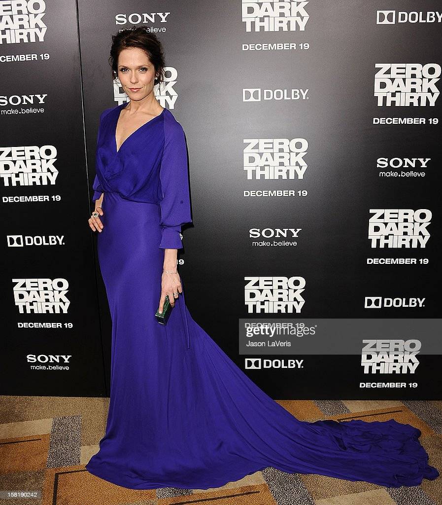 Actress Katie Aselton attends the premiere of 'Zero Dark Thirty' at the Dolby Theatre on December 10, 2012 in Hollywood, California.