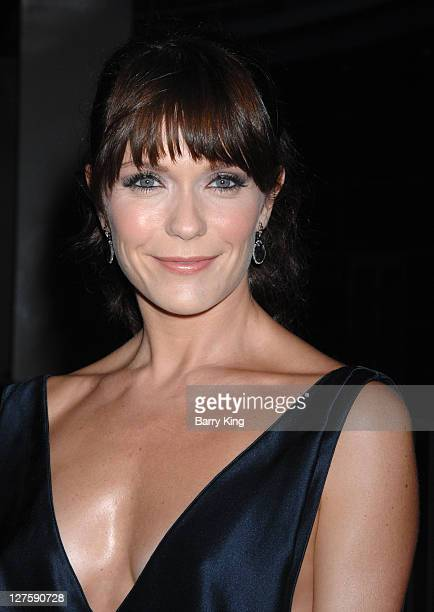 Actress Katie Aselton attends the premiere party for FX's 'It's Always Sunny In Philadelphia' and 'The League' at ArcLight Cinemas Cinerama Dome on...