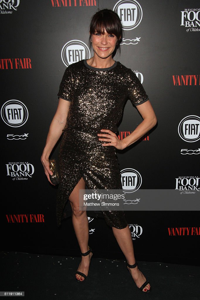 Actress Katie Aselton attends Vanity Fair and FIAT Young Hollywood Celebration at Chateau Marmont on February 23, 2016 in Los Angeles, California.