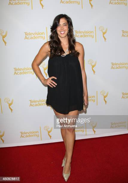 Actress Katie Caprio attends the Daytime Emmy Nominee Reception at The London West Hollywood on June 19 2014 in West Hollywood California