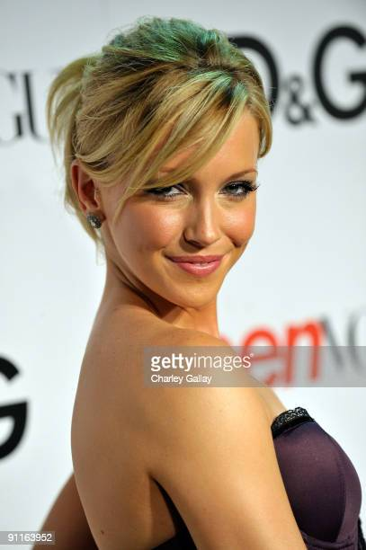 Actress Katie Cassidy arrives at 7th Annual Teen Vogue Young Hollywood Party at MILK Studios on September 25 2009 in Los Angeles California