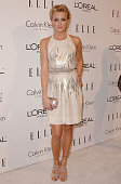 Actress Katie Cassidy arrives at ELLE's 16th Annual Women In Hollywood Event at the Four Seasons Hotel on October 19 2009 in Beverly Hills California