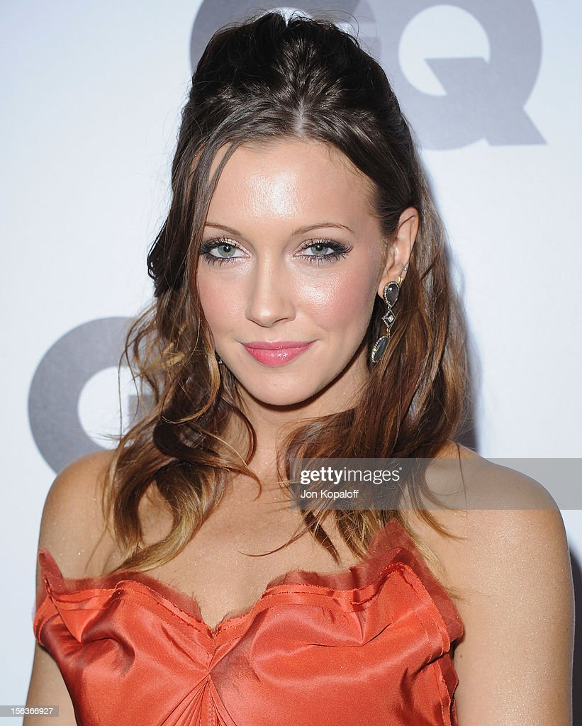 Actress Katie Cassidy arrives at GQ Men Of The Year Party at Chateau Marmont on November 13, 2012 in Los Angeles, California.