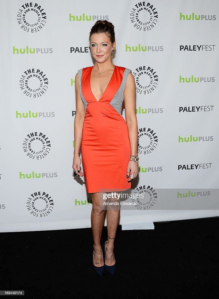 Actress Katie Cassidy arrives at the 30th Annual PaleyFest: The William S. Paley Television Festival featuring 'Arrow' at the Saban Theatre on March 9, 2013 in Beverly Hills, California.