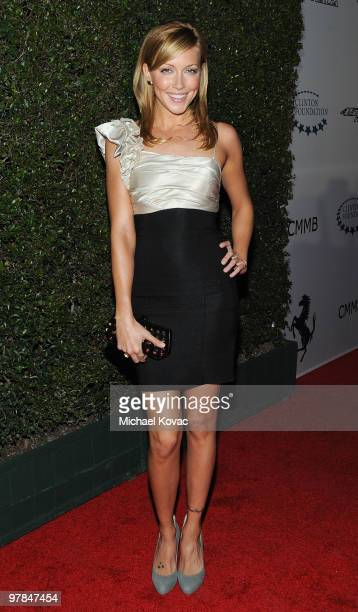 Actress Katie Cassidy arrives at the Ferrari 458 Italia Brings Funds for Haiti Relief event at Fleur de Lys on March 18 2010 in Los Angeles California