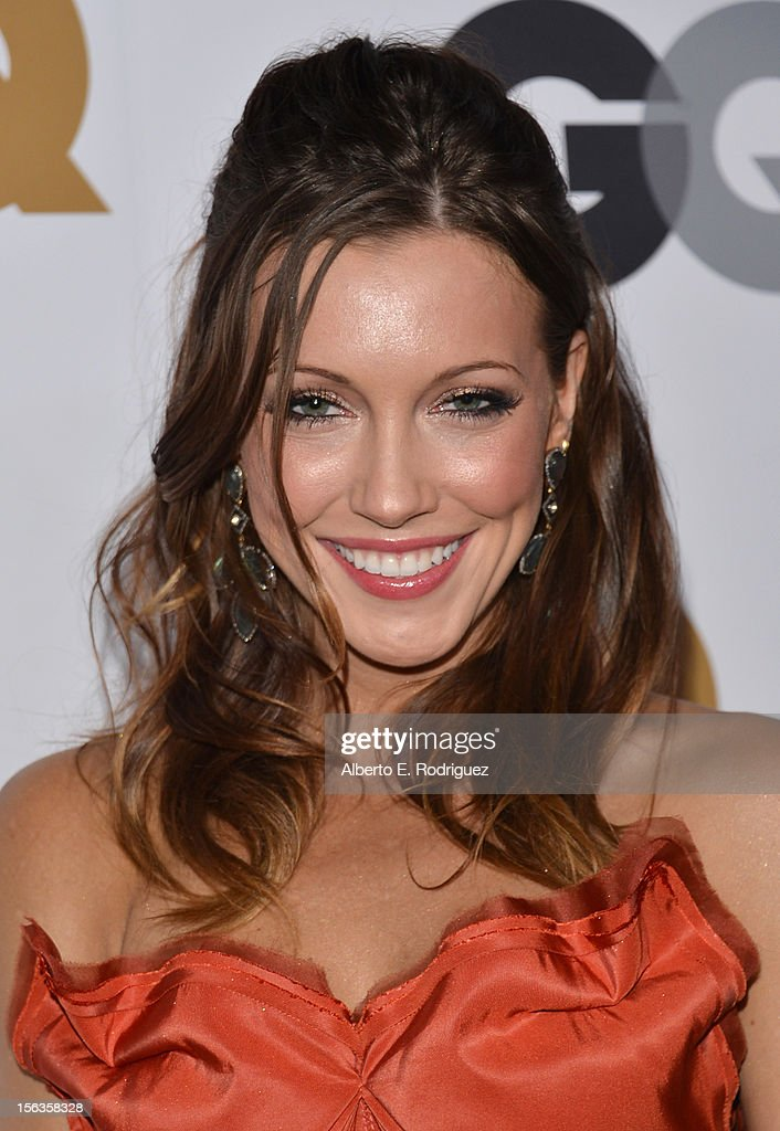 Actress Katie Cassidy arrives at the GQ Men of the Year Party at Chateau Marmont on November 13, 2012 in Los Angeles, California.