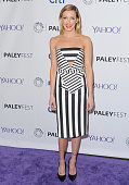 Actress Katie Cassidy arrives at The Paley Center For Media's 32nd Annual PALEYFEST LA 'Arrow' And 'The Flash' at Dolby Theatre on March 14 2015 in...