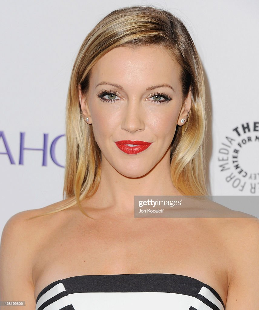 Actress Katie Cassidy arrives at The Paley Center For Media's 32nd Annual PALEYFEST LA - 'Arrow' And 'The Flash' at Dolby Theatre on March 14, 2015 in Hollywood, California.