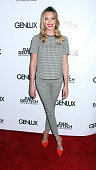 Actress Katie Cassidy attending the Genlux Katie Cassidy Cover party on June 28 2014 in Los Angeles California