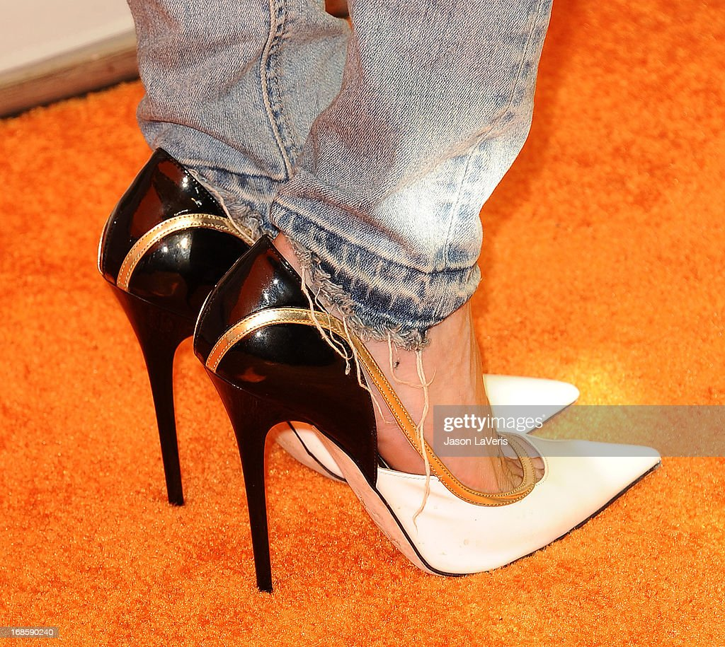 Actress Katie Cassidy (shoe detail) attends 102.7 KIIS FM's Wango Tango at The Home Depot Center on May 11, 2013 in Carson, California.