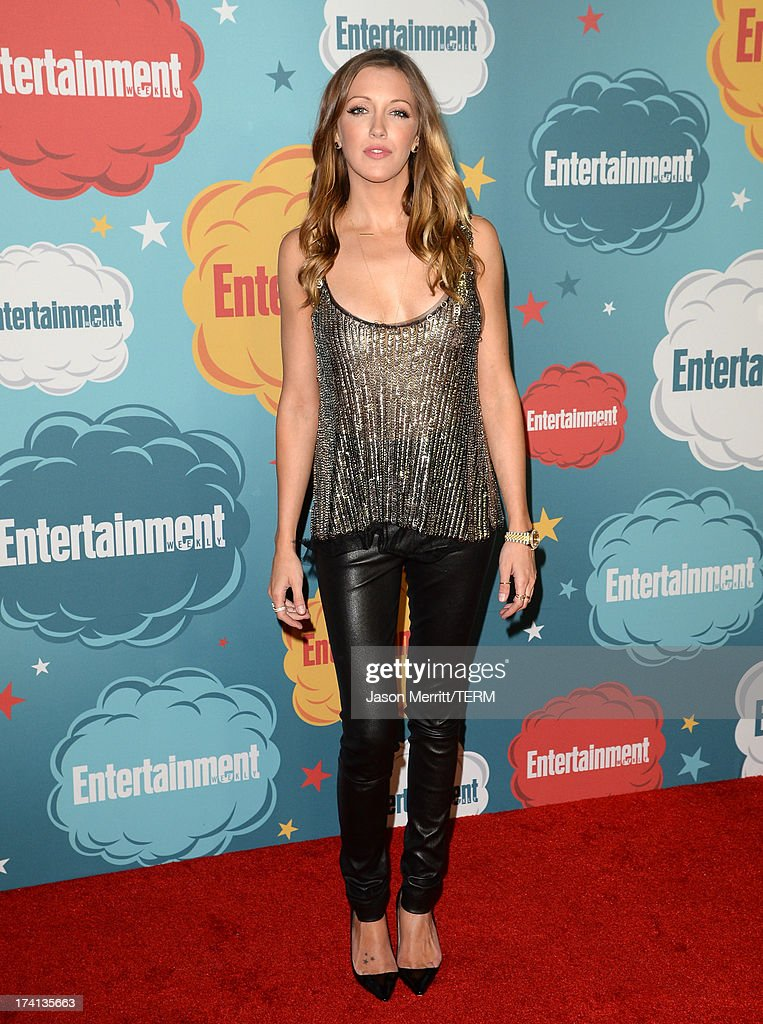 Actress <a gi-track='captionPersonalityLinkClicked' href=/galleries/search?phrase=Katie+Cassidy&family=editorial&specificpeople=569891 ng-click='$event.stopPropagation()'>Katie Cassidy</a> attends Entertainment Weekly's Annual Comic-Con Celebration at Float at Hard Rock Hotel San Diego on July 20, 2013 in San Diego, California.