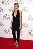 Actress Katie Cassidy attends the 26th Annual Producers Guild Of America Awards at the Hyatt Regency Century Plaza on January 24 2015 in Los Angeles...