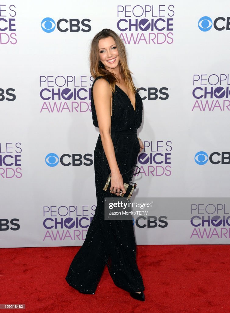 Actress Katie Cassidy attends the 39th Annual People's Choice Awards at Nokia Theatre L.A. Live on January 9, 2013 in Los Angeles, California.