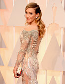Actress Katie Cassidy attends the 87th Annual Academy Awards at Hollywood Highland Center on February 22 2015 in Hollywood California