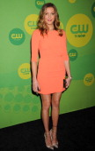 Actress Katie Cassidy attends The CW Network's New York 2013 Upfront Presentation at The London Hotel on May 16 2013 in New York City