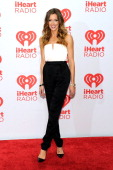 Actress Katie Cassidy attends the iHeartRadio Music Festival at the MGM Grand Garden Arena on September 21 2013 in Las Vegas Nevada