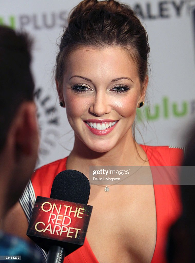 Actress Katie Cassidy attends The Paley Center For Media's PaleyFest 2013 honoring 'Arrow' at the Saban Theatre on March 9, 2013 in Beverly Hills, California.