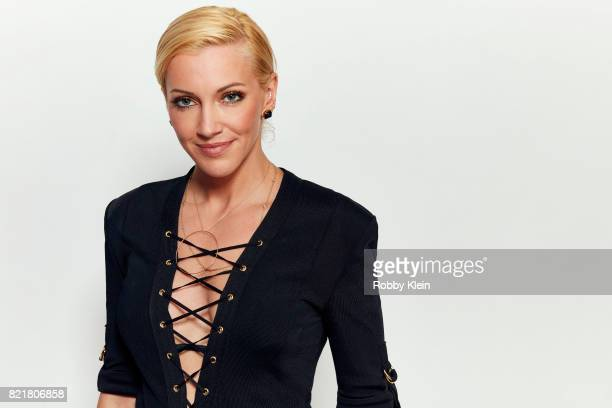 Actress Katie Cassidy from CW's 'Arrow' poses for a portrait during ComicCon 2017 at Hard Rock Hotel San Diego on July 22 2017 in San Diego California