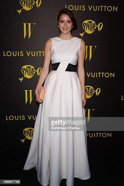 Actress Katie Chang attends The Bling Ring Party hosted by Louis Vuitton during The 66th Annual Cannes Film Festival at Club d'Albane/JW Marriott on...