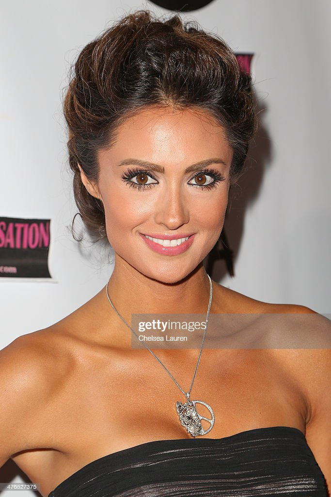 Actress Katie Cleary arrives at the Hellman & Waters 4th annual salute to the stars Oscar event at W Hollywood on March 2, 2014 in Hollywood, California.