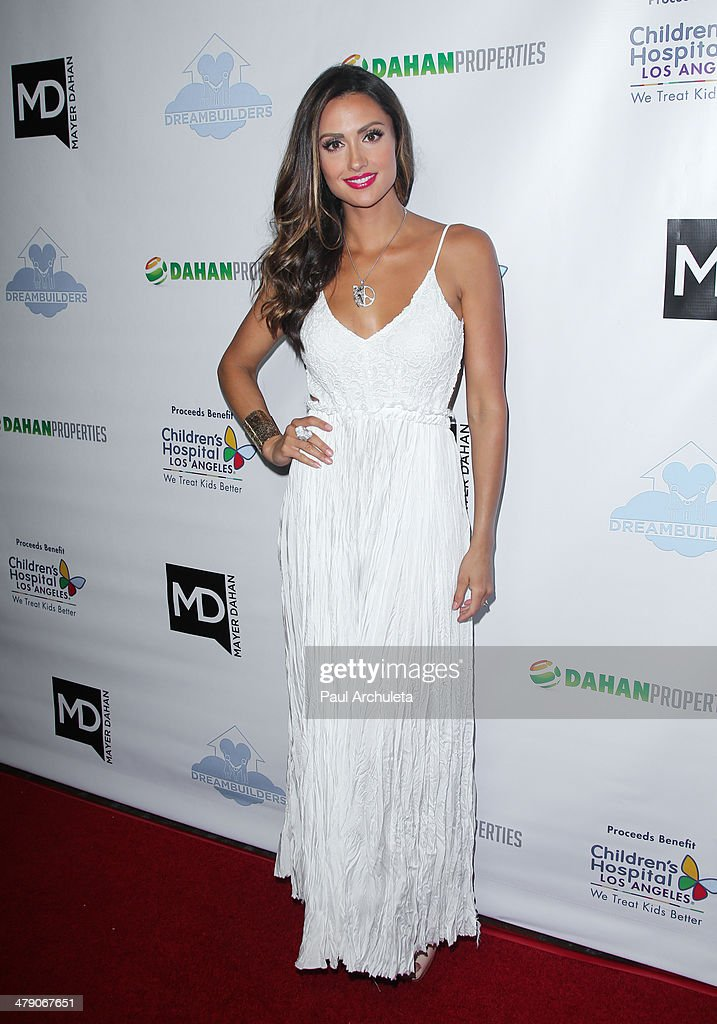 Actress Katie Cleary attends the Dream Builders project's 'A Brighter Future For Children' benefit at H.O.M.E. on March 15, 2014 in Beverly Hills, California.
