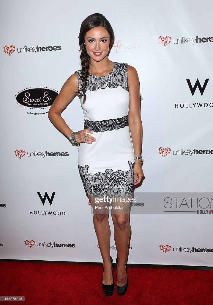 Actress Katie Cleary attends the 'Love Is Heroic' - The Unlikely Heroes annual spring benefit at the W Hollywood on March 21, 2013 in Hollywood, California.