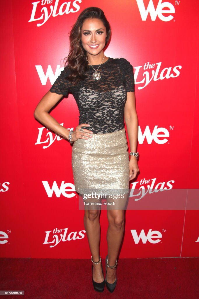 Actress Katie Cleary attends the WE tv's premiere party for 'The LYLAS' held at the Warwick on November 7, 2013 in Hollywood, California.