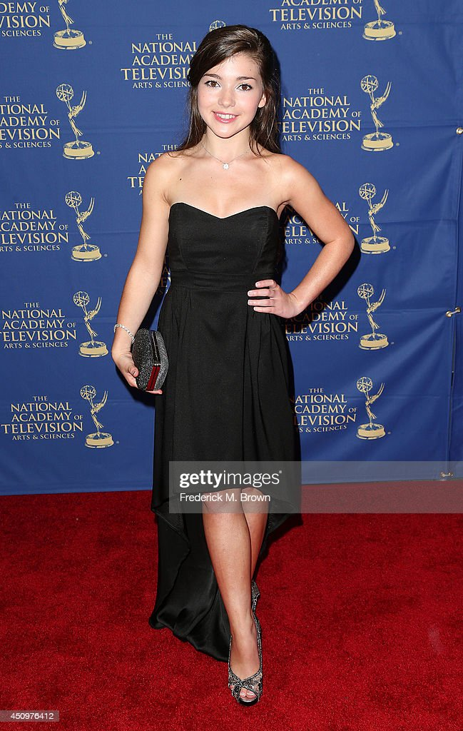Actress Katie Douglas attends the Daytime Creative Arts Emmy Awards Gala at the Westin Bonaventure Hotel on June 20 2014 in Los Angeles California