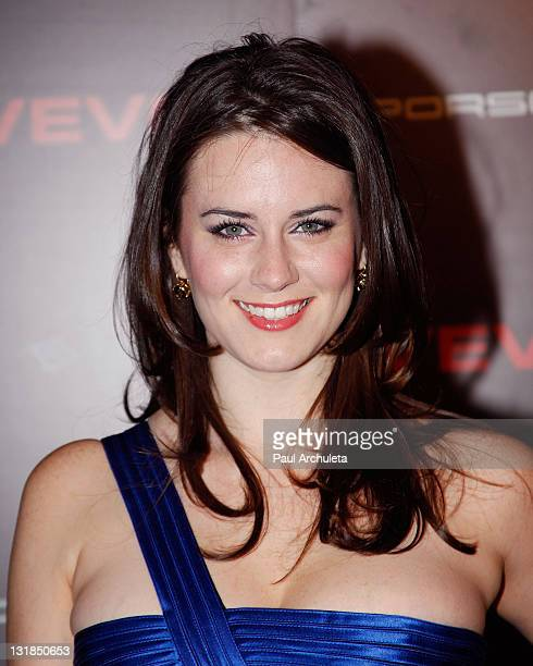 Actress Katie Featherston arrives at the NeYo And Friends American Music Awards Post Party at Avalon on November 21 2010 in Hollywood California