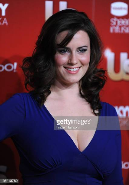 Actress Katie Featherston arrives at the Us Weekly Hot Hollywood Event at Voyeur on November 18 2009 in Los Angeles California