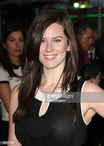 Actress Katie Featherston attends the premiere of FilmDistrict's 'Insidious Chapter 2' at Universal CityWalk on September 10 2013 in Universal City...