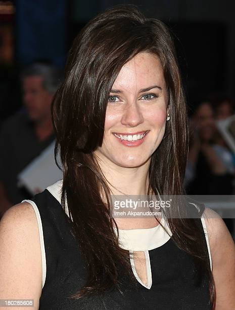 Actress Katie Featherston attends the premiere of FilmDistrict's 'Insidious Chapter 2' on September 10 2013 in Universal City California
