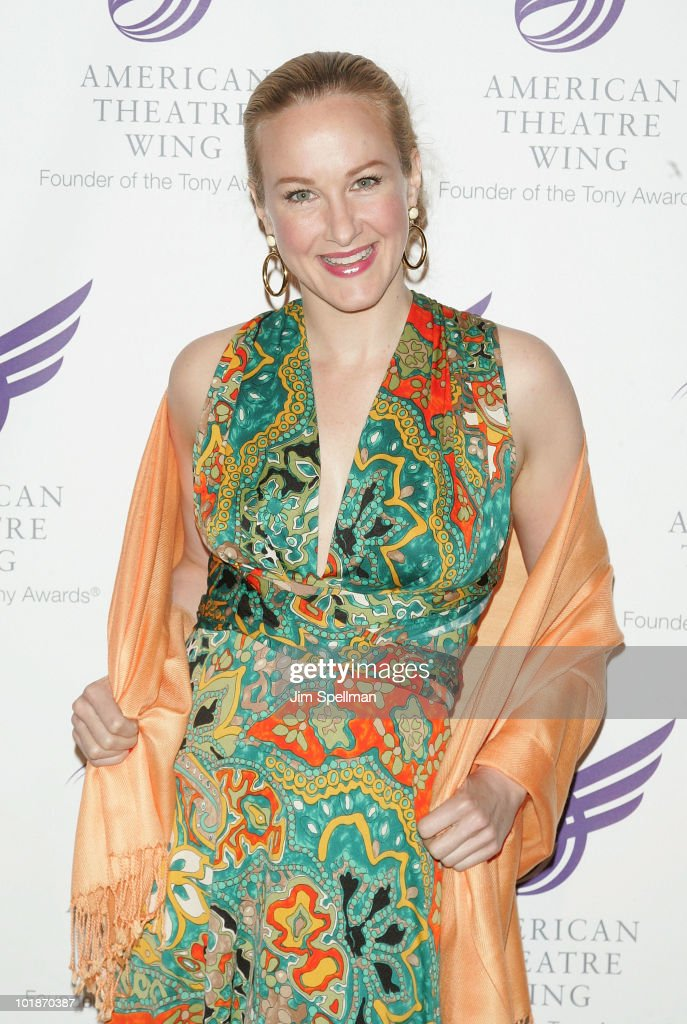 Actress Katie Finneran attends the 2010 American Theatre Wing Spring Gala at Cipriani 42nd Street on June 7, 2010 in New York City.