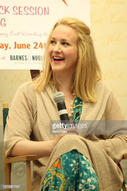 Actress Katie Finneran attends the 'Promises Promises' cast album signing at Barnes Noble Lincoln Triangle on June 24 2010 in New York City
