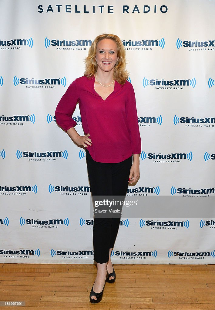 Actress <a gi-track='captionPersonalityLinkClicked' href=/galleries/search?phrase=Katie+Finneran&family=editorial&specificpeople=778124 ng-click='$event.stopPropagation()'>Katie Finneran</a> visits SiriusXM Studios on September 26, 2013 in New York City.