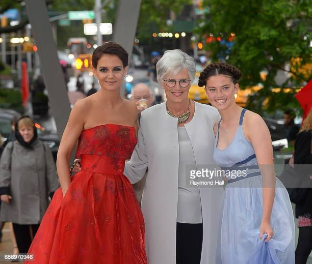 Actress Katie Holmes and Kathleen A StothersHolmes and seen walking in Midtown on May 22 2017 in New York City