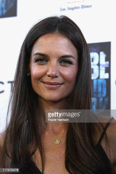 Actress Katie Holmes arrives at the LAFF closing night 'Dont Be Afraid Of The Dark at Regal Cinemas LA Live on June 26 2011 in Los Angeles California