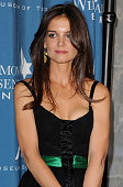 Actress Katie Holmes arrives at the Simon Wiesenthal Center Annual National Tribute Dinner Honoring Tom Cruise at the Beverly Wilshire Four Seasons...