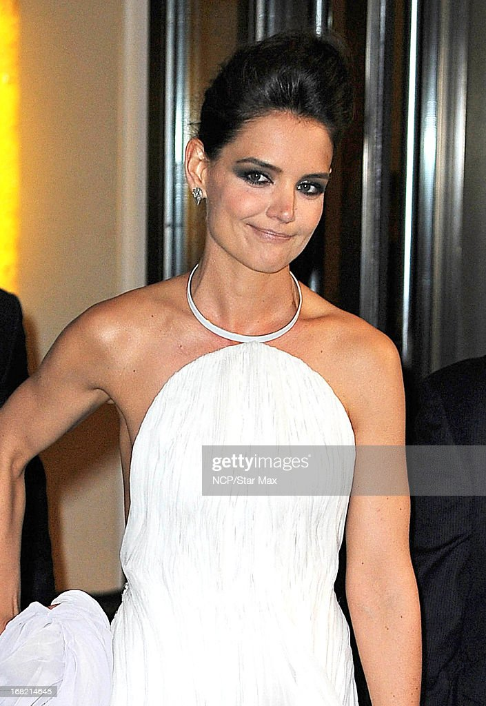 Actress Katie Holmes as seen on May 6, 2013 in New York City.