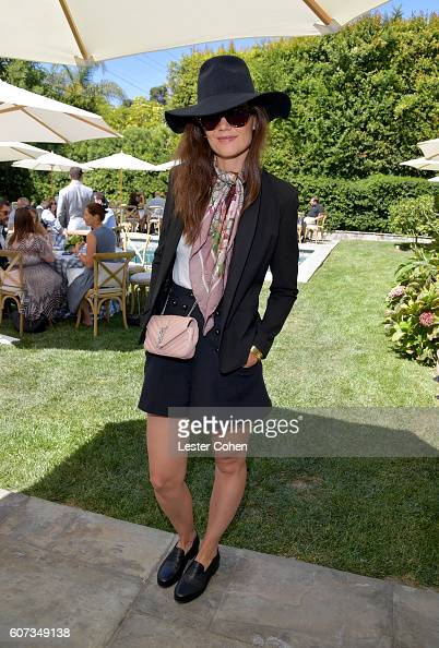 Actress Katie Holmes at the ICM Partners PreEmmy Brunch on September 17 2016 in Santa Monica California