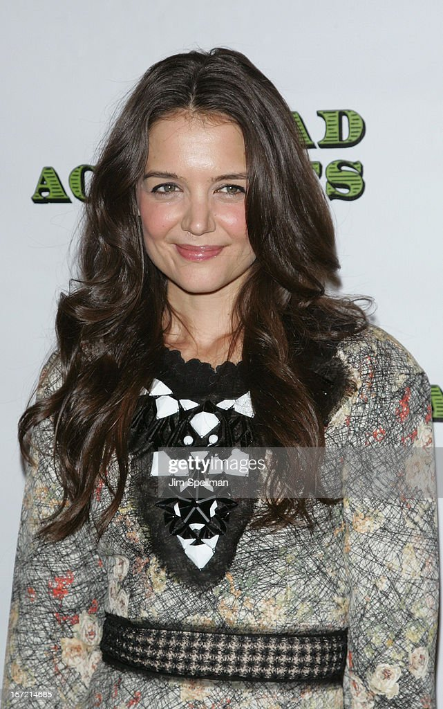 Actress Katie Holmes attends 'Dead Accounts' Broadway Opening Night After Party at Gotham Hall on November 29, 2012 in New York City.