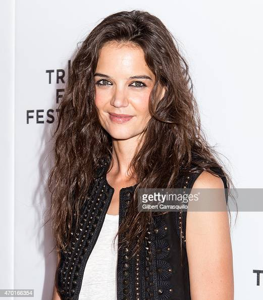 Actress Katie Holmes attends Eternal Princess during the 2015 Tribeca Film Festival 'Be Yourself Shorts Program' at Regal Battery Park 11 on April 17...