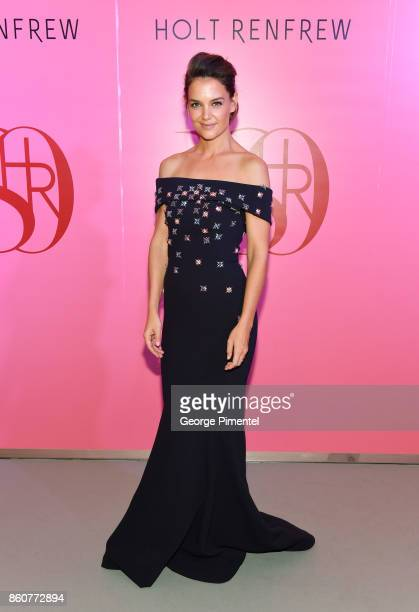 Actress Katie Holmes attends Holt Renfrew 180TH Anniversary hosted by Mr W Galen Weston and The Hon Hilary M Weston in partnership with Vogue...