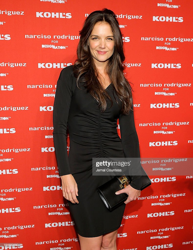 Actress Katie Holmes attends Narciso Rodriguez Kohl's Collection Launch Party at IAC Building on October 22, 2012 in New York City.
