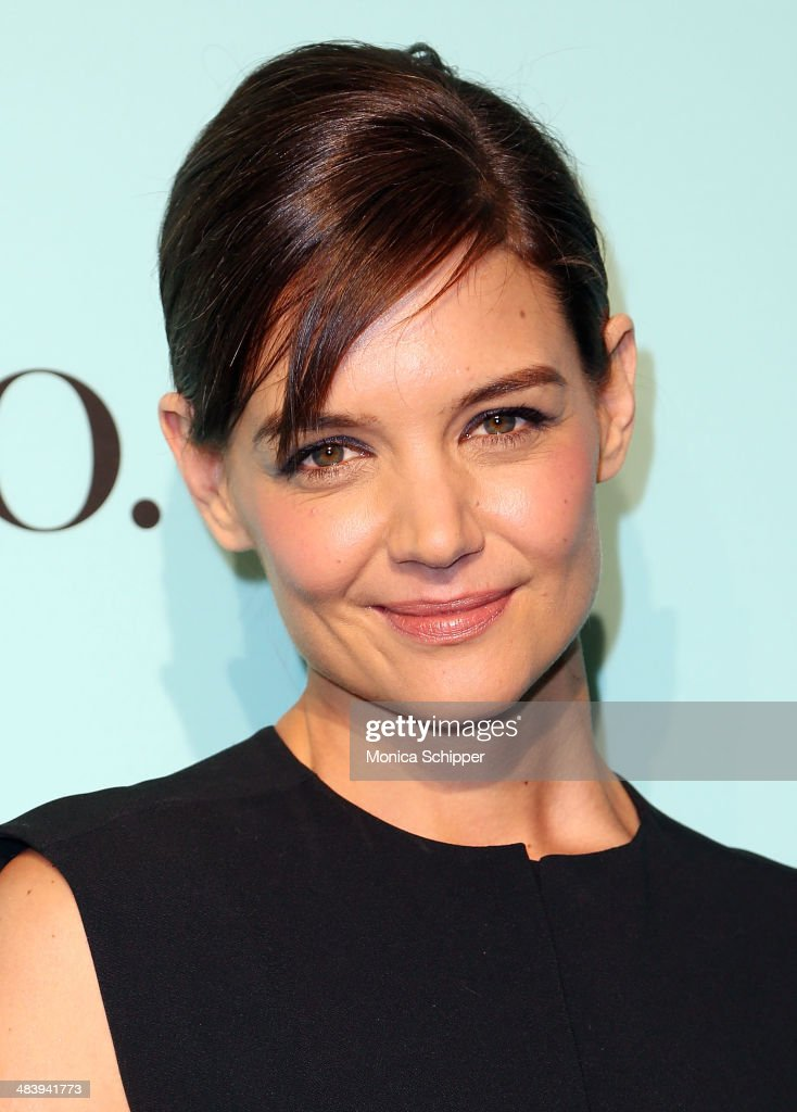 Actress <a gi-track='captionPersonalityLinkClicked' href=/galleries/search?phrase=Katie+Holmes&family=editorial&specificpeople=201598 ng-click='$event.stopPropagation()'>Katie Holmes</a> attends the 2014 Tiffany's Blue Book Gala at the Guggenheim Museum on April 10, 2014 in New York City.